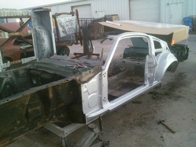 67 68 Mustang Coupe To Fastback Conversion Kit