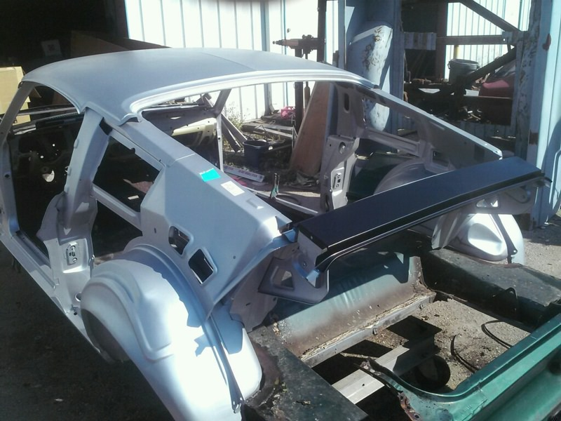 67 / 68 Mustang Coupe to Fastback Conversion Kit